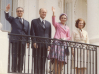 The Shah and Shahbanou of Iran and President Ford and First Lady Betty Ford - 5/15/1975