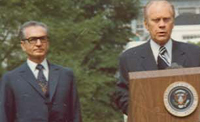 President Ford and the Shah of Iran - 5/15/1975