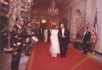 President Ford and Shahbanou of Iran - 5/15/1975