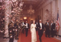 The Shah Iran and First Lady Betty Ford - 5/15/1975